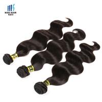 ingrosso tessitura dei capelli umani tesse-3 bundles di alta qualità peruviana trama dei capelli dell'onda del corpo non trasformati vergine di remy dei capelli umani tessuto visone estensioni dei capelli treccia