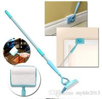 Wholesale Baseboard Buddy Cleaning Mop Simply Walk Glide Extendable Microfiber Dust Brush Home Supply