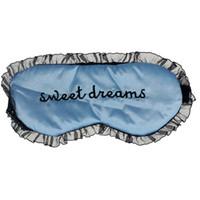 Wholesale Cute Sleeping Masks - Wholesale- Zero New Cute Lace Sleeping Eye Mask Blindfold Shade Satin