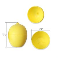 Wholesale Kitchen Fruit Vegetable Storage - Fresh Lemon Lime Keeper Plastic Storage Container Holder Saver Clean Vegetables & Fruits Box Kitchen Tool easy carry