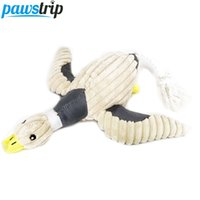 Wholesale Cute Duck Plush - Cute Duck Dog Sound Toys Soft Plush Durable Pet Chew Toys For Large Dogs 36 *31cm
