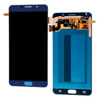 Großhandel-LCD Display Touchscreen Digitizer Assembly Für Samsung Galaxy Note 5 N9200 N920F N920A N920T N920C N920V N920W8 Note5 LCDs