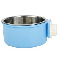 Wholesale High Quality Stainless Steel Pet Dog Bowl Puppy Cat Travel Feeder Food Bowl Water Dish Dog Bowl Pet Products JJ0438