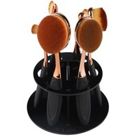 Wholesale Eye Shadow Holder - Wholesale- 1pcs Useful Cosmetic Dryer Makeup Brushes Holder Stand Cosmetic Dryer Holder Puff Eye Shadow Pen Storage