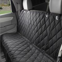 Wholesale car pet seat cover black oxfold dog cat back seat thicken waterproof cushion Mat Blanket Hammock