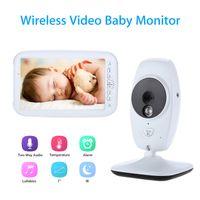 "Wholesale Music Baby Speaker - Wholesale- Blueskysea SP870 7""LCD Screen Baby Monitor Camera Wireless Digital Video CMOS Two Way Audio Speaker Temperature Detection Alarm"