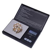 elektronische led-waagen großhandel-Hochwertige Pocket Mini Digitalwaage 100g x 0,01g Elektronische Präzisions-Schmuckwaage Hochpräzise Küchenwaage mit LED-Hintergrundbeleuchtung