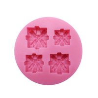Wholesale Mold Relief - Wedding Decorating Relief Decortion Cupcake Mold Fondant Silicone Mold For Wedding Plaster Moulds Square Shape Chocolate Molds SM-865