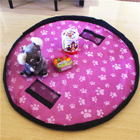 Wholesale Baby Play Gym Toys - New Arrival Portable Kids Children Infant Baby Play Mat 150cm 45cm Large Storage Bags Toys Organizer Blanket Rug Boxes Multi-functional