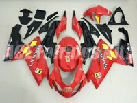 Wholesale Motor Aprilia - New Injection ABS motor fairing kits for aprillia RS125 2006-2011 Fairings RS 125 06 07 08 09 10 11 RS4 bodywork set nice red black yellow