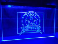 LD483b- Dallas Cowboys Badge LED Neon Light Sign