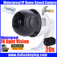 Wholesale Optical Zoom Ip Security Camera - FULL HD 960P 1.3MP high speed PTZ Camera 20x optical zoom Security cctv ip camera support network, with Bracket