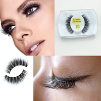 Wholesale Wholesale Feather Eyelashes - 30 designs Mink False Eyelashes makeup 100% Real Mink Natural Thick False Fake Eyelashes Eye Lashes Makeup Extension Beauty Tools