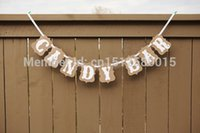 Vente en gros - Livraison gratuite 1 X Handmade CANDYBAR Banner Wedding Photo Props Birthday Party Garland Decoration Prop