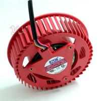 tarjeta gráfica ventilador de 12v al por mayor-Envío gratis BASA0725R2U 12V, 1.20A 4 cables ATI HD5870 HD5970 Turbo tarjeta gráfica ventilador ventilador