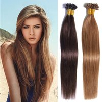 Wholesale Cheap Keratin - U Tip Pre-bonded Human Hair Extensions Glossy Straight Brazilian Human Virgin Hair Fusion Keratin Crochet Human Hair Extension Cheap Price