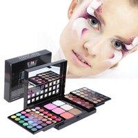 Wholesale Pro 78 Full Color Eyeshadow - Pro Full 78 Color paleta de maquiagem Makeup Eyeshadow Palette baked Fashion Eye Shadow Make up Shadows Cosmetics Tool
