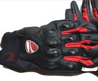 Wholesale Motorcycle Performance - DUCA.. Gloves Motorcycle Leather Protective Gear Performance Black Bike Racing Cycling Motorbike moto Glove