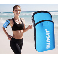 Wholesale Travel Gadget Bags - Concise Design Durable Zipper Arm Band Waterproof Men Women Outdoor Sports Running Pocket Sports Travel Gadgets Arm Mobile Phone Storage Bag