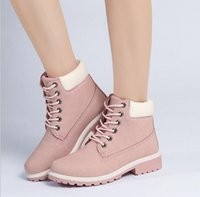 Wholesale Cheap Silver Low Heels - 2016 Women Men Fashion Martin Boots Snow Boots Outdoor Casual cheap Fashion Ankle Boots Autumn Winter shoes