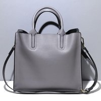 Wholesale Real Shopping - Genuine Cowhide Real Leather Women's Handbag Tote Shopping Bags