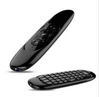 Wholesale Wireless Gyroscope - T10 C120 Mini Keyboard Wireless Remote Control Game Controller 6 Gyroscope 2.4G Air Mouse For MXQ Pro M8S Mini MX TV Box