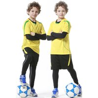 Wholesale Kids White Leisure Suit - Wholesale- New Polyester Kids Running Training Shorts Set Boy Breathable Basketball Soccer Jogging Leisure Kits Football Shorts Suits XXS