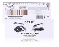 Wholesale Best Story - Best Quality Kylie Story Kyshadow Pressed powder eyeshadow 12 colors with liner Brush fashion item hot sale