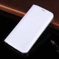 samsung clamshell telefon großhandel-Samsung Kartenholster Clamshell Flip Leder PU Kartenetui für Samsung Galaxy S8 Plus Handyhülle