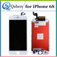 Para iPhone 6s Lcd Screen Display Touch Digitizer Assembly com Frame Perfect 3D Touch 4.7 polegadas