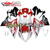 Wholesale 13 Triumph 675 - Fairings For TRIUMPH DAYTONA 675 13 14 15 16 2013 - 2016 ABS Plastic Motorcycle Fairing Kit Cowlings White Red
