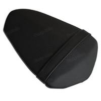 ingrosso sedili per motocicli yamaha-Pelle artificiale per sellino posteriore del motociclo per Yamaha YZF R1 2009-2014 nero