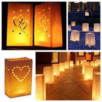 ingrosso illuminazione eventi all'aperto-Festival Lantern Paper Lantern Candle Bag Outdoor Lighting Candele per le decorazioni di nozze Event Pary Supplies