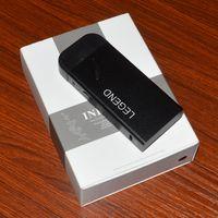 Wholesale Newest Ecig Batteries - Newest hot sell Legend ecig 1300 mah electronic cigarette vape mod with changeable clearomizer VS cbd kit ecigs cbd touch battery legend kit