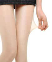 Wholesale Panty Hose Sizing - Plus Size Pure Color Anti-static Panty-hose Nude long socks pants
