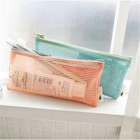 Wholesale Travel Wash Bag Wholesale - reticular toiletry bag Transparent Organizer bags Cosmetic Bags Makeup Travel Waterproof Toiletry Wash Bathing Storage bags