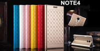 Wholesale luxury pouch bags wallet purse for sale - Leather Wallet Case Vintage plaid holster Insert national Case Pouch Money Stand Purse Credit Card Bag plain skin luxury