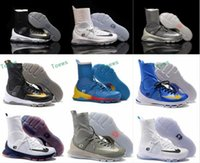 Wholesale Kd Shoes For Women - New Colors Kevin KD 8 Elite Men's Basketball Shoes for Top quality Wolf Durant VIII Retro playoff Sports Training Sneakers Size 7-12