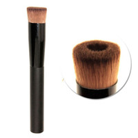 Wholesale liquid hair - Wholesale Hot Concave Liquid Powder Foundation Brush blush contour Makeup Cosmetic Tool Pinceaux Maquillage Free Shipping