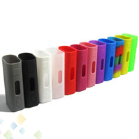 Wholesale E Mini Case - Eleaf Ismoka Silicone Case For Istick 30w Istick 20w Mini Case Colorful Istick Skin Silicon Cases Bag 30w Box Mod e Cig Bag