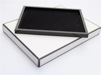 Wholesale HOT small Tray Women Jewelry Display Cosmetic Makeup Storage Tray Acrylic Classic logo Organizer storage box
