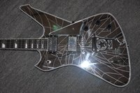 Wholesale Glass Paul - custom guitar signature Paul Stanley glass top electric guitar with Grover tuner Ebony fingerboard 2 humbacker passive
