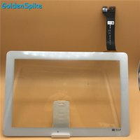 Wholesale Generic Tablets - Wholesale- For Asus MeMO Pad 10 ME102 ME102A K00F FPC-V2.0 V3.0 Tablet PC Touch Screen Digitizer Parts Generic Version+tools