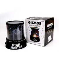 Wholesale Star Night Sky Lamp Sale - Wholesale- Hot Sale Colorful Sky Star Master Night Light Lovely Sky Starry Star Projector Novelty Gifts LED light Lamp High Qualit XK