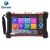 Wholesale Hd Poe - 7 Inch Retina Display IP Camera Tester CCTV Tester CVBS Analog Tester with HD-TVI CVI AHD SDI POE WIFI RJ45 TDR DMM VFL X7-MOVTSADH-Plus