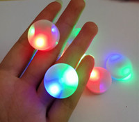 Wholesale LED Fidget Spinner hand only Movement Fingertips Gyro Torqbar FIDGET SPINNER LED Movement Novelty toys DHL shipping