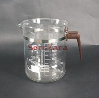 Wholesale Beaker Handle - Wholesale- 1000ml Plastic handle Beaker Chemistry Laboratory Borosilicate Transparent Glass Beaker with spout