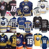 46115dba37d ... Ice Hockey Unisex Full 2017 Mens Buffalo Sabres 16 Pat Lafontaine Old  Time Sweatshirts Stitched Pullover Authentic ...