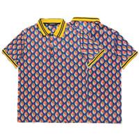 Wholesale Longest Golf Tees - Brand Designer Tiger Hawks 3D Printting Men Polo Shirts Eagle Homme Wholesale Golf Polos Team Casual Men Tee Shirt Tops Cotton
