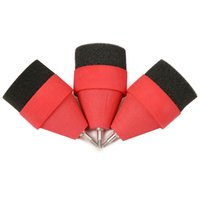 Wholesale Red black Soft Sponge Foam Hunting Arrowhead Game Practice Broadhead Tips For Archery Sports Club CS Shooting